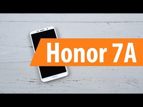 Распаковка смартфона Honor 7A / Unboxing Honor 7A
