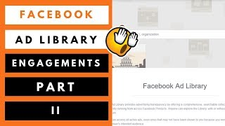 How To Find Engagement On Facebook Ads Library
