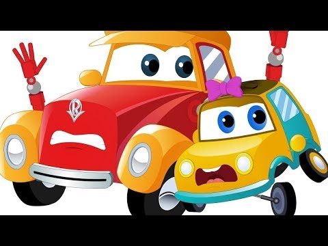 Car Cartoons For Children   Street Vehicle Videos For Babies - Super Car Royce