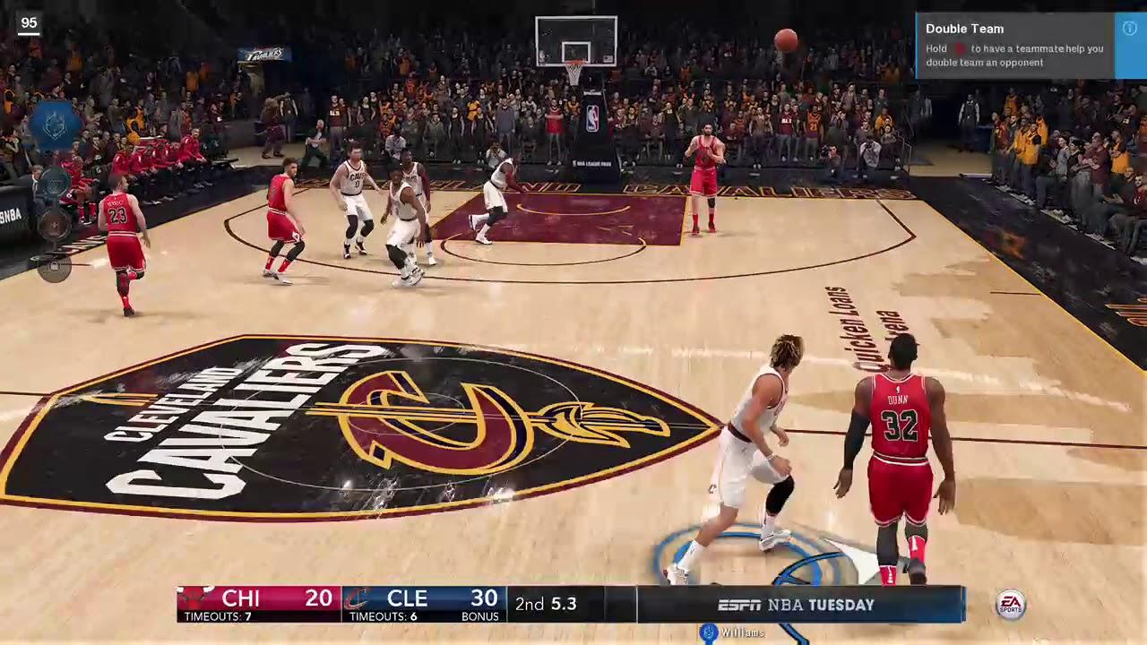 27bcf6c4e09e FIRST BUZZER BEATER NBA LIVE 18 - YouTube