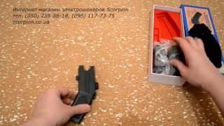 Стреляющий электрошокер Taser A1 Обзор - scorpion.co.ua(Видео обзор стреляющего электрошокера Taser A1 от интернет-магазина Скорпион. Купить стреляющий электрошокер..., 2016-02-14T22:04:49.000Z)