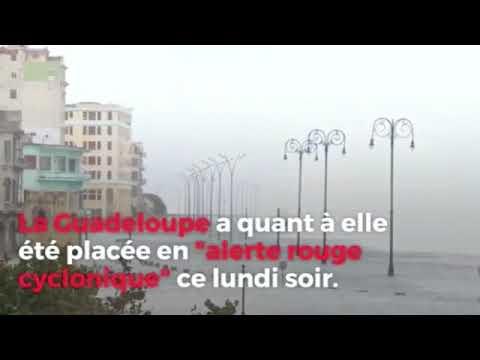 Ouragan Maria - premières images en Martinique et en Guadeloupe