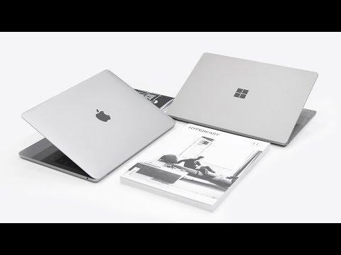 "MacBook Pro 13"" (2017) vs Microsoft Surface Laptop - Full Comparison!"