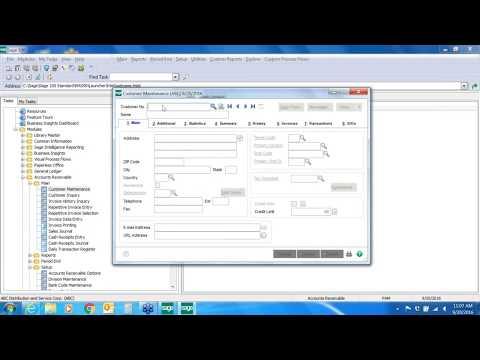 ERP: Sage 100/Sage 100c - Tips & Tricks - Accounts Receivable