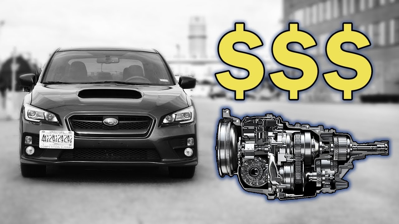 The Subaru WRX CVT Transmission Is ONLY Replaceable, NOT Repairable