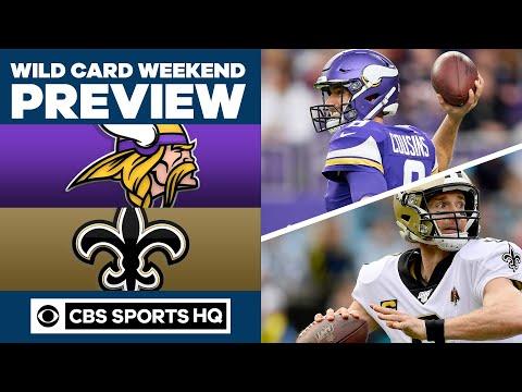 DJ Slab 1 - Minnesota Vikings vs New Orleans Saints Wild Card Preview