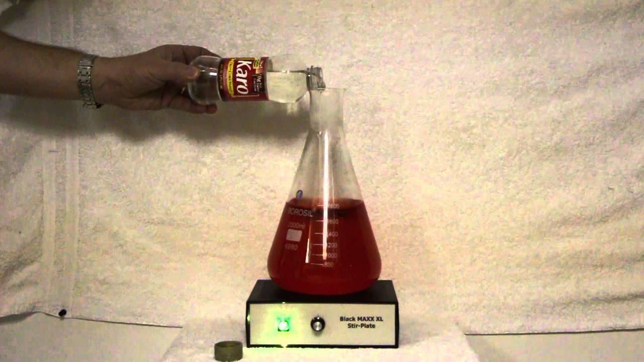 Black MAXX Karo Syrup Test