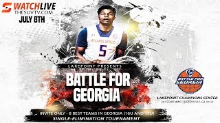 LakePoint Hoops - Battle for Georgia (16U Semifinals): GA Stars 15U vs.  Game Elite
