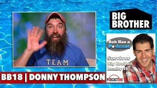 Repeat youtube video Big Brother 18 Sunday 9/12/16 | CBS BB18 Recap Donny Thompson Interview | Sept 12 Big Brother 2016