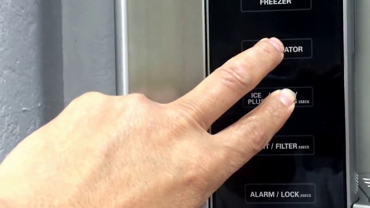 New Lg French Door Refrigerator Is Not Cold With Ff Error