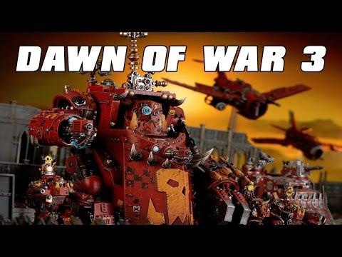 Dawn of War 3 Multiplayer 3v3 Gorkanaut Attack