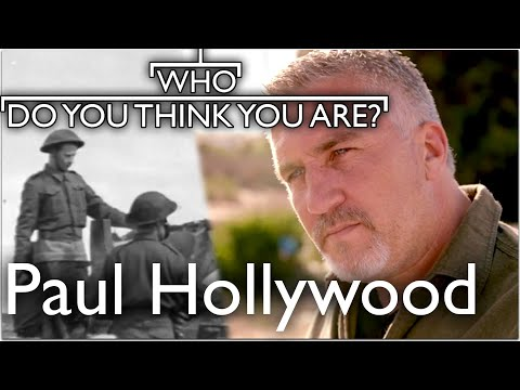 GBBO's Paul Hollywood Traces Grandfather To WW2 In Tunisia | Who Do You Think You Are
