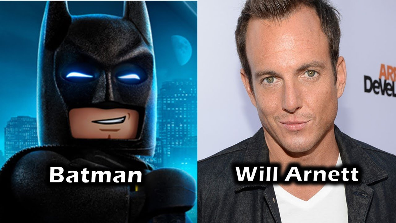 Characters and Voice Actors - The Lego Batman Movie - YouTube