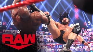 Drew McIntyre vs. Bobby Lashley: Raw, May 10, 2021
