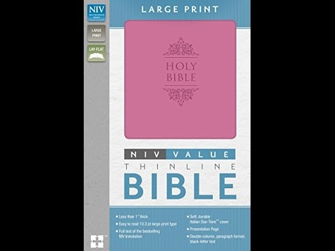 ['PDF'] NIV Value Thinline Bible Large Print Imitation Leather Pink -DOWNLOAD-