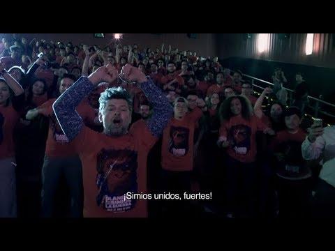 Andy Serkis visita Cinemex