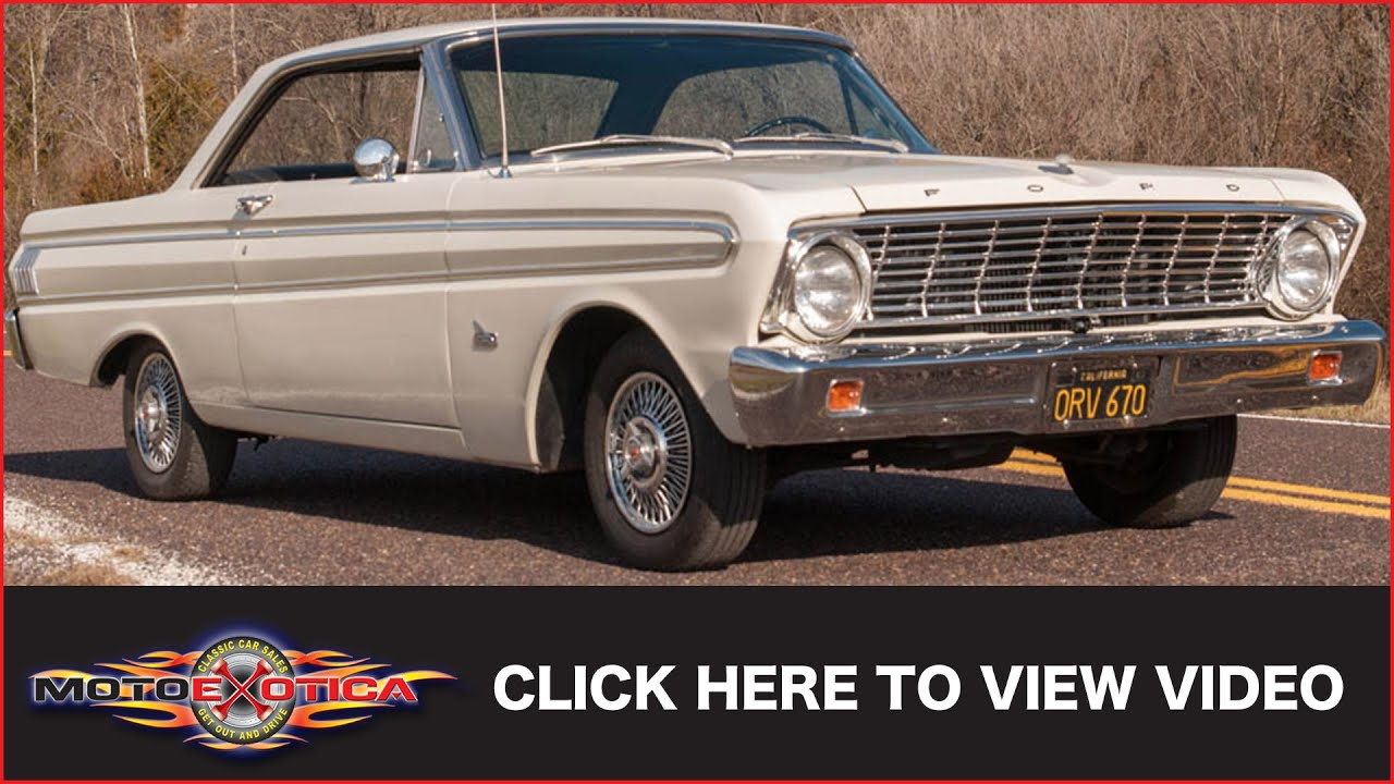 1964 Ford Falcon Futura Sold Youtube Convertible