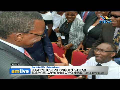 High Court Judge Louis Onguto collapses and dies