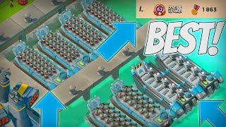 Boom Beach BEST ATTACK STRATEGY IN THE GAME!?! (Get to #1 Using This!)+High Gameplay