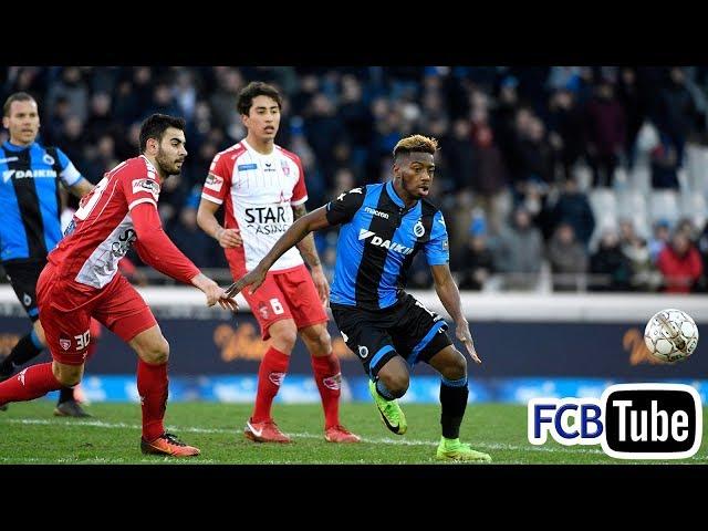 2017-2018 - Jupiler Pro League - 21. Club Brugge - Royal Excel Mouscron 4-2
