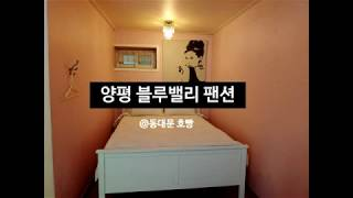 양평 가성비 최고인 블루밸리펜션 방문 후기[동대문 호빵…