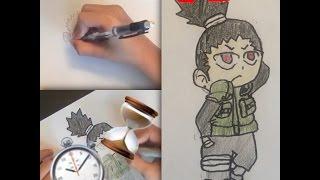 Chibi shikamaru speed draw!