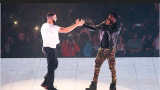DRAKE brings Meek Mill out in Philly.
