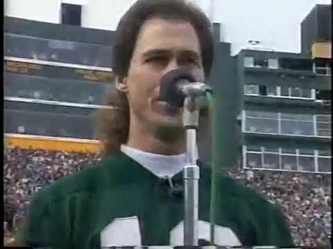 Jim Counter Music - National Anthem - Green Bay Packers - Lambeau Field - 1992