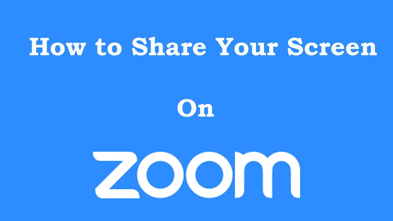 How to Share Screen, PowerPoint and Video on Zoom