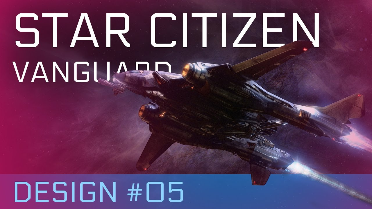star citizen aegis vanguard warden das design der schiffe von star citizen 05 youtube. Black Bedroom Furniture Sets. Home Design Ideas