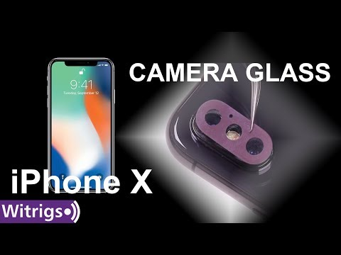 IPhone X Camera Lens Glass Replacement - Repair Guide