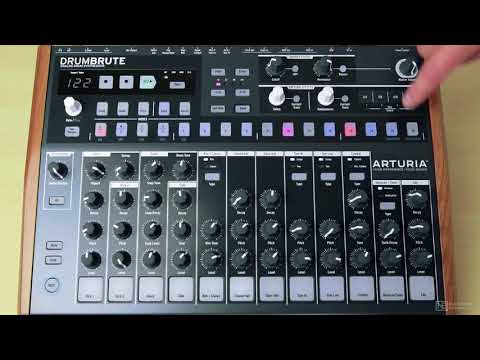 Arturia DrumBrute 101: DrumBrute - Make Beats Now - 2. Getting Started with DrumBrute