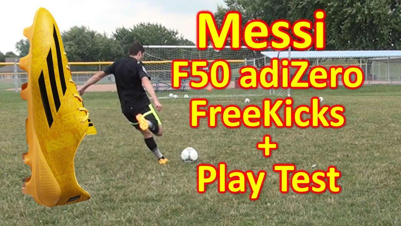 be528107a 72be1 91f30  coupon for messi adidas f50 adizero 2014 review freekicks play test  youtube 3dff6 b8dec