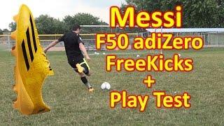 Messi adidas f50 adizero 2014 review - freekicks + play test