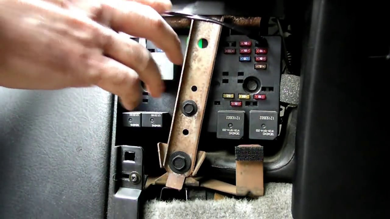 1996 Lesabre Fuse Box Location Emergency Windshield Wiper Switch Youtube