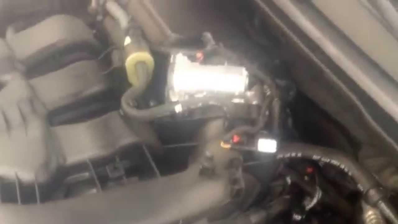 2015 Chrysler 200 v6 purge valve noise