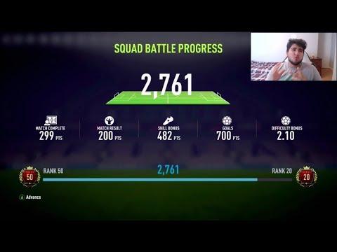 🔴  LIVE FIFA 18 - SQUAD BATTLES ON ULTIMATE w/ 750K FUT CHAMPIONS SQUAD!