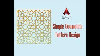 Видео, How to draw a Complex Islamic Geometric Pattern with