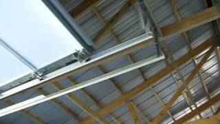 Keener Metal Building - Ceiling Before