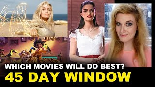 Eternals, Encanto, West Side Story - 45 Day Window Theaters Only