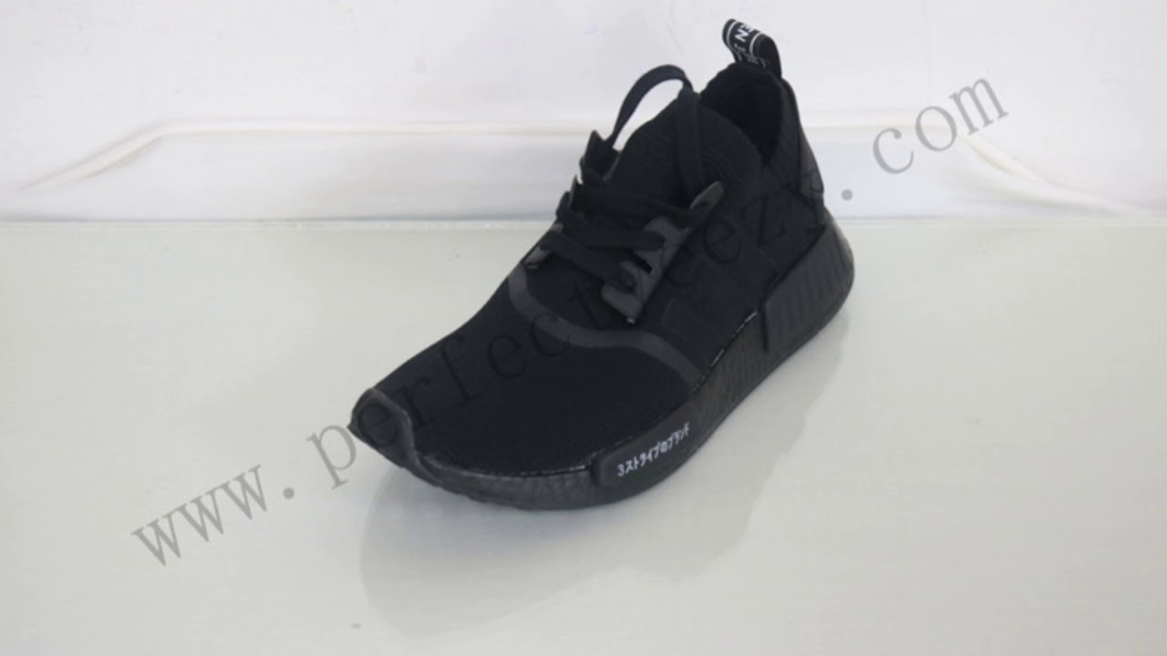 ADIDAS NMD R1 PK BOOST S81847(JAPAN FULL BLACK ) FROM PERFECTYEEZY ... dfe1c6c315