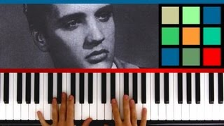 "How To Play ""Jail House Rock"" Piano Tutorial / Sheet Music (Elvis Presley)"
