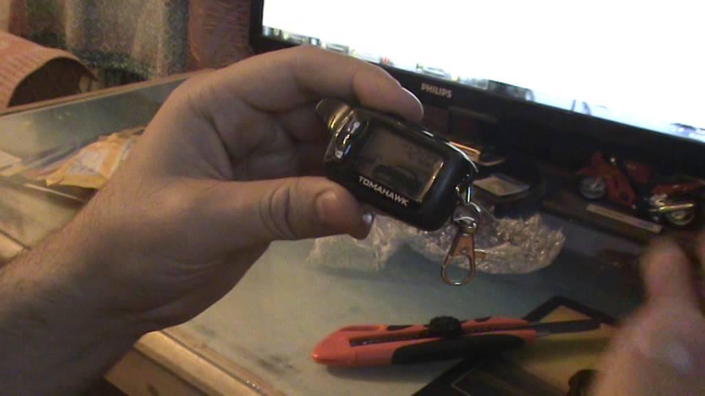 Брелок Tomahawk tw 9010 | auto-components.ru - YouTube