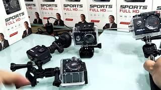 Anytek ActionCam AC-18 Sport HD AC-38 4K Camera DVR Driving Video Recorder