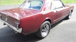 ** SLEEPER !! **  1965 FORD MUSTANG COUPE ** HEALTHY 347ci / 4-SPEED ** SOLD !!