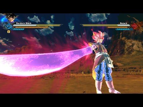 Xenoverse 2 Mods Bardock Black Turn Super Saiyan Rose Two Costumes