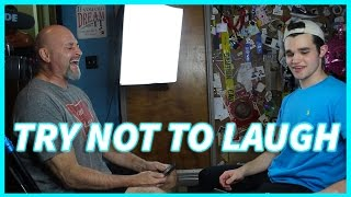 TRY NOT TO LAUGH AT THESE DAD JOKES!! (IMPOSSIBLE!)
