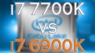 7700k vs 6900k i7 7700k benchmark test kaby lake vs broadwell e review and comparison