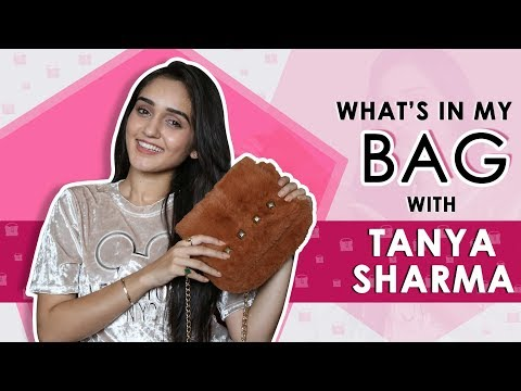 What's In My Bag With Tanya Sharma | Bag Secrets Revealed | Exclusive