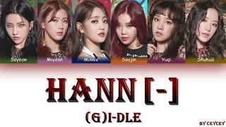 ()((G)I-DLE) - () HANN (ALONE) [HANROMTURKCE ALTYAZILI]